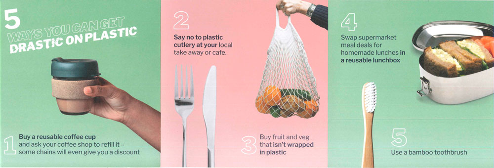 tips for reduce the waste