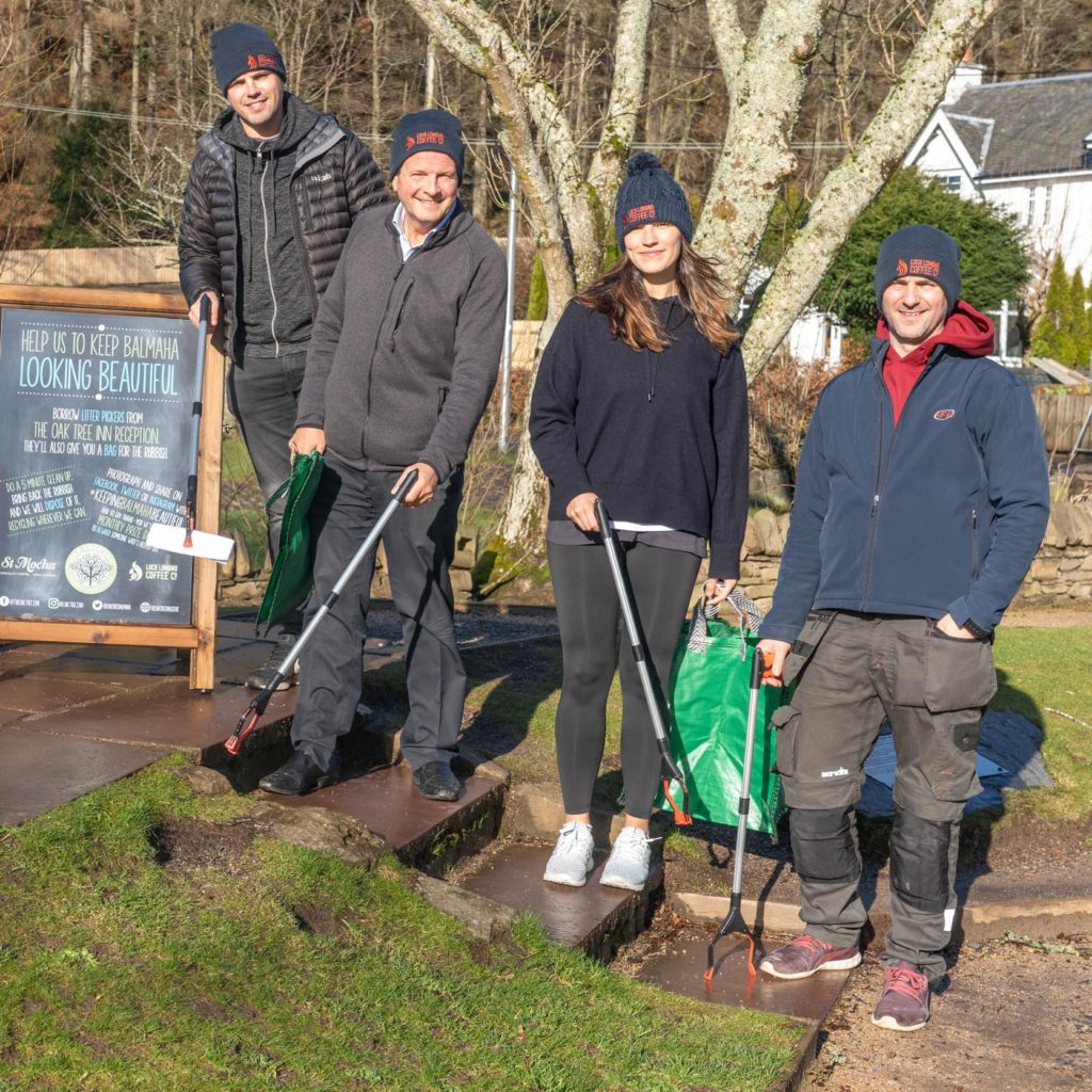 Fraser's Family are determined to keep Balmaha clean