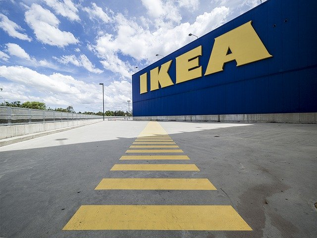 Green Homes come to Britain. Ikea warehouse. Published at The Green Bee. Author Juanele Villanueva