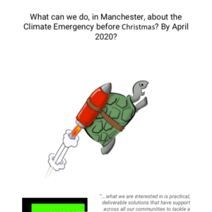 Climate Emergency Manchester report. Manchester responds to Climate Emergency. The report shows many week points. Published in The Green Bee: Eco-Journalism. Author Juan Villanueva