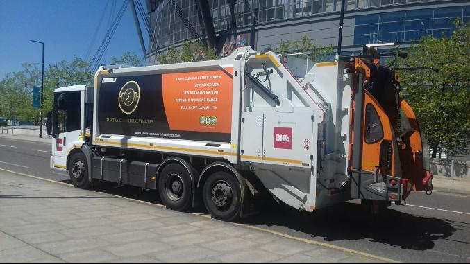 Manchester cleaner bin lorries will come the next Autumn. Electric lorries do the same job but cleaser and silent. It has cost £9.787m but it will set off with energy savings. Published at The Gree Bee: Eco-Journalism. Author: Juanele Villanueva